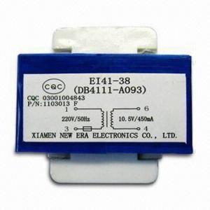 Power Transformer with Pins, 220V AC/50Hz Input Voltage, 10W Maximum Output Power Manufactures