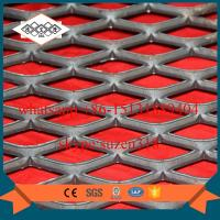 expanded metal catwalk wire mesh /  galvanized expanded metal shelving Manufactures