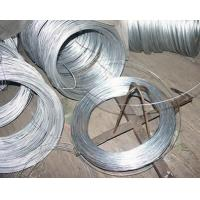 China Silver Thin Redrawing Hot Dipped / Electro Galvanized Iron Wire 0.38mm on sale