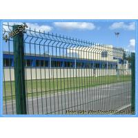 Perimeter Coated Welded Wire Fence Steel-P0007