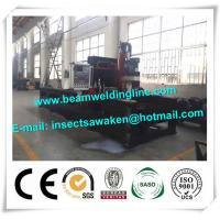 Steel plate drilling machine for box beam production line , steel structure drilling machine Manufactures