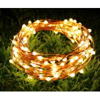 Quality Colorful DIY Solar LED String Lights Waterproof No Electrical Wiring Required for sale