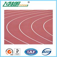 All Weather Track Surface Rubber Flooring Playground Surfaces Running Tracks Sandwich System Manufactures