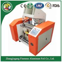 Durable new arrival aluminum foil rewinder with cutting machine Manufactures