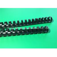 22MM Black Plastic Spiral Binding Combs For Documents / Presentations Manufactures