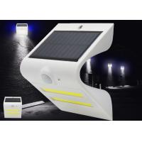 China Energy Saving Solar Led Motion Activated Light , Solar Pir Wall Lights Outdoor on sale