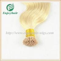 "Pre-Bonded Hair 10""-28"" 100s/pack 613# color body wave Human Hair Brazilian hair extension Manufactures"