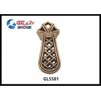 Quality Polished Brass Zinc Kitchen Cupboard Door Handles Chinese Style Square European for sale