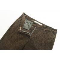 Brown Ladies Casual Pants Five Pocket European Style Eco - Friendly