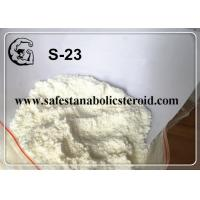 SARMs White Powder S-23 for Increasing Muscle Mass with High Quality Manufactures