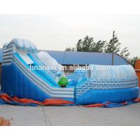 Outdoor Snow world design giant inflatable bouncer jumping castle
