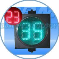 Well-sealed 300mm LED traffic digital countdown timer Manufactures