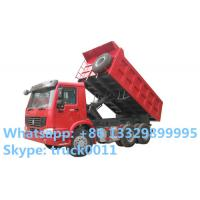factory sales SINO TRUK HOWO 6*4 LHD/RHD 30ton 336hp dump truck, hot sale best price HOWO dump tipper truck for stones Manufactures