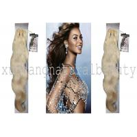 Unprocessed 100 Indian Virgin Hair Extensions , Body Wave Human Hair Manufactures