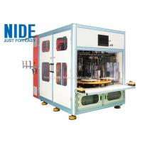 Automatic 4 working stations stator coil winding machine for Submersible generator Manufactures