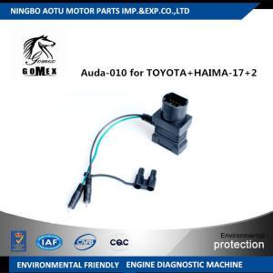 TOYOTA / HAIMA -17 + 2 Engine Diagnostic Tool Car Diagnostic Plug Auda - 010 Manufactures