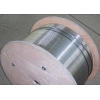 Stainless Steel Hydraulic Control Line , Control Line Tubing50-4000m Length Manufactures