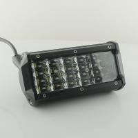 54W 4.5inch Vehicle LED Light Bar 10 - 30 DC Operating Voltage , 2160 Lm Lumen Manufactures