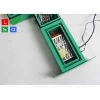 Quality 480x480mm Green LED Scrolling Sign With Bracket For Pharmacy Shop Front Display for sale