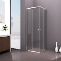Sliding Door Square Shower Cabin , Tempered Clear Glass Shower Enclosure Manufactures