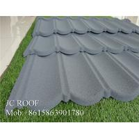 Colorful Stone Chip Coated Metal Roof Tiles / Steel Roofing Tile Sheet For Philippines Manufactures