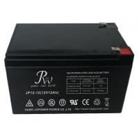 Quality Rechargeable Agm Lead Acid Battery 12V 12Ah With Safety Valve for sale
