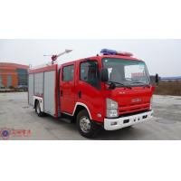 Max Torque 510N.M Pumper Tanker Fire Trucks With Cooling Water Pipeline Manufactures