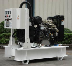 50Hz Water Cooled Perkins Diesel Generator 50 kva , Stamford Alternator Generator Manufactures