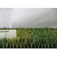 Fire Resistance Outdoor Synthetic Grass For Soccer Fields , Artificial Football Turf Manufactures