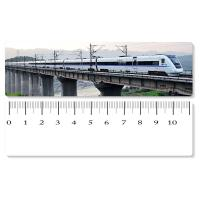 Eco - Friendly Custom Printed Plastic Rulers / 3D Printing Service With Railway Pattern Manufactures