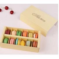 Fashionable, elegant design and popular macaron box Manufactures