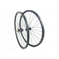 High Precision Tubular Carbon MTB Wheels 29ER 27MM*23MM 3K / UD For Cross Country Manufactures