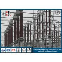 Anticorrosive Steel Q355 Tubular Steel Structures Electric Power Pole Long Life Manufactures