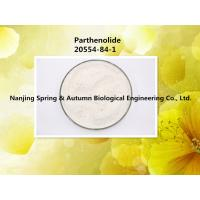 Quality 20554-84-1 Parthenolide All Natural Skin Care Ingredients High Purity 98% for sale