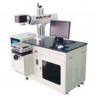 Water Cooling 50w Diode Laser Marker For Metal Products / Barcode Marking Manufactures