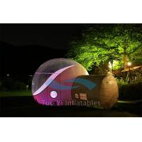 PVC Bubble Tent Night Inflatable Clear Dome Tent CE Certificated Manufactures