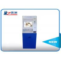 Inquiry ATM kiosk machine with printer , indoor payment self service Kiosk Manufactures