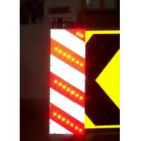 Waterproof Solar Traffic Signs Ultra Bright LED Obstruction Marker Manufactures