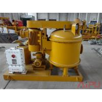 Land drilling mud solids control ZCQ vacuum degasser for sale at Aipu Manufactures