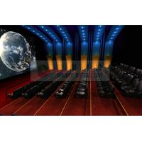 Arc / Globular screen 3d movie theater , stereo cinema system with Dolby 3D / IMAX Projectors Manufactures