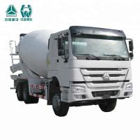 China High Speed Concrete Mixer Vehicle , Powerful HOWO Mixer Truck on sale