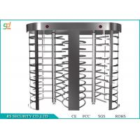 Double Lanes Rotating Full Height Turnstiles Turnstyle Gates CE Approved Manufactures