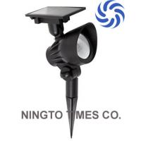 Quality high output power White Color Outdoor Solar LED Spotlight No Need Cable Wire To for sale