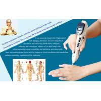 Microcurrent Electronic Acupuncture Pen Ivory White With 3 Replaceable Probes Manufactures