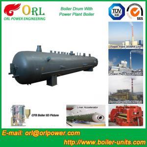 High Pressure Vacuum Boiler Mud Drum For Heating Industry SGS Standard Manufactures