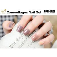 No Nicks No Chips Camouflage Nail Gel Builder For Natural / False Nails Manufactures