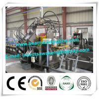 Quality Industrial H Beam Production Line Metal Punching Machine For Sheet Metal Hole Punch for sale