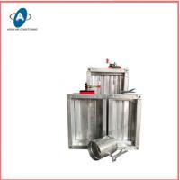 Square Fire Resisting Damper Electric Air Duct Motor Damper Manufactures