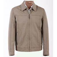 Two Side Pockets Custom Plus Size and Gray Knitting Lightweight Cotton Jackets for Men Manufactures