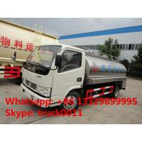 factory direct sale dongfeng brand 8,000L milk tank truck, hot sale dongfeng 8,000L stainless steel liquid food truck Manufactures